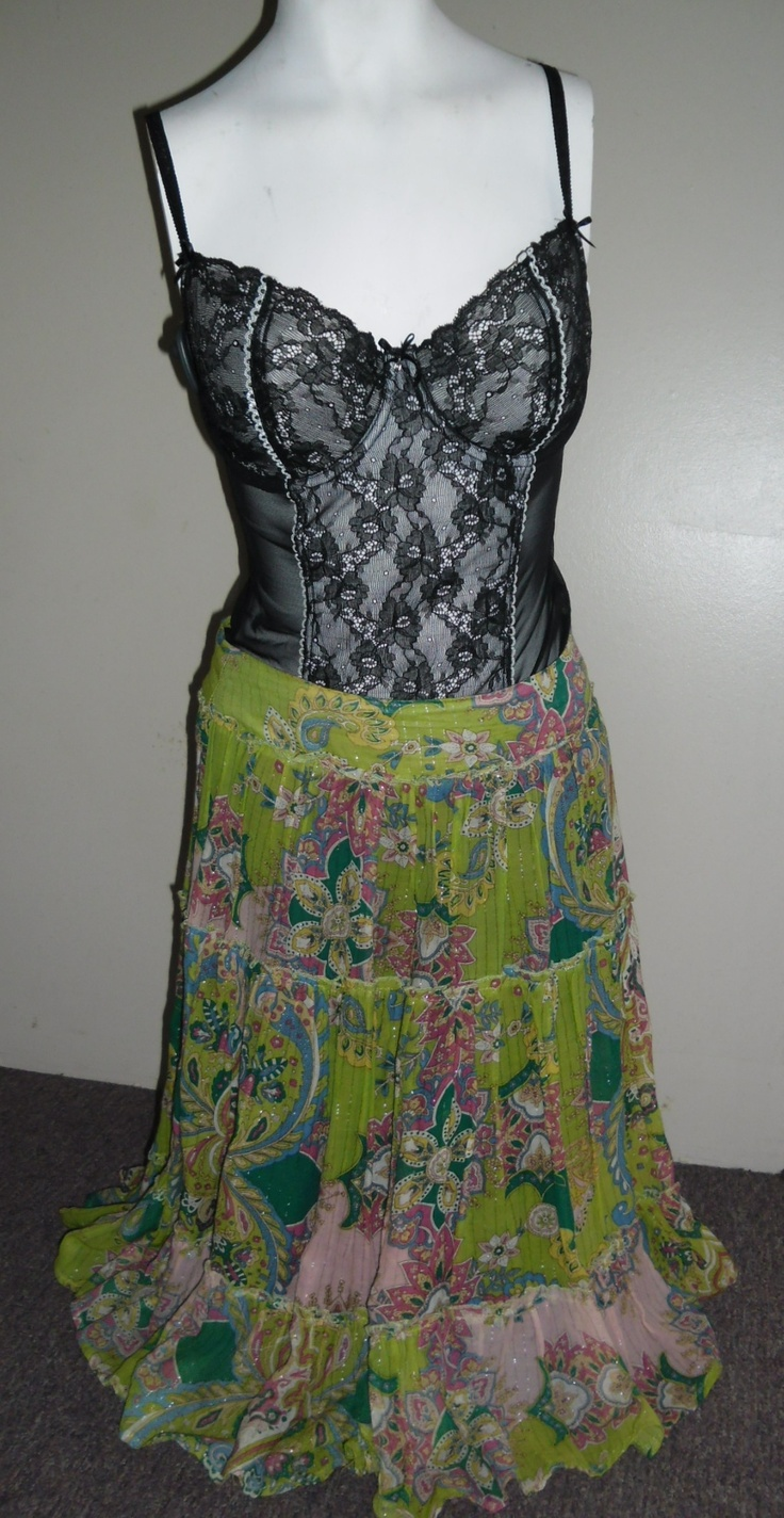Gypsy Skirt $25 and Bustiers from $15 to $35