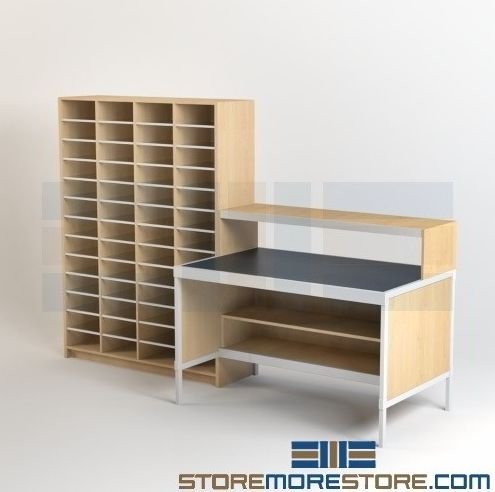 Modular Mailroom Furniture Improves Organization Everyone In The Office Is  Always Busy, But The Mail