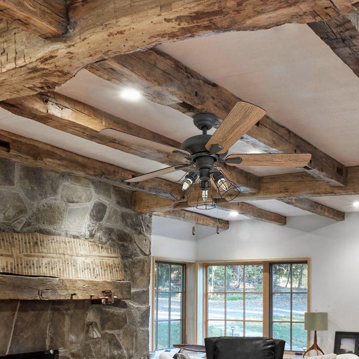 42 rayborn 5 blade led ceiling fan farmhouse ceiling