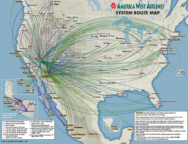 America West Airlines Was A Us Airline Headquartered In