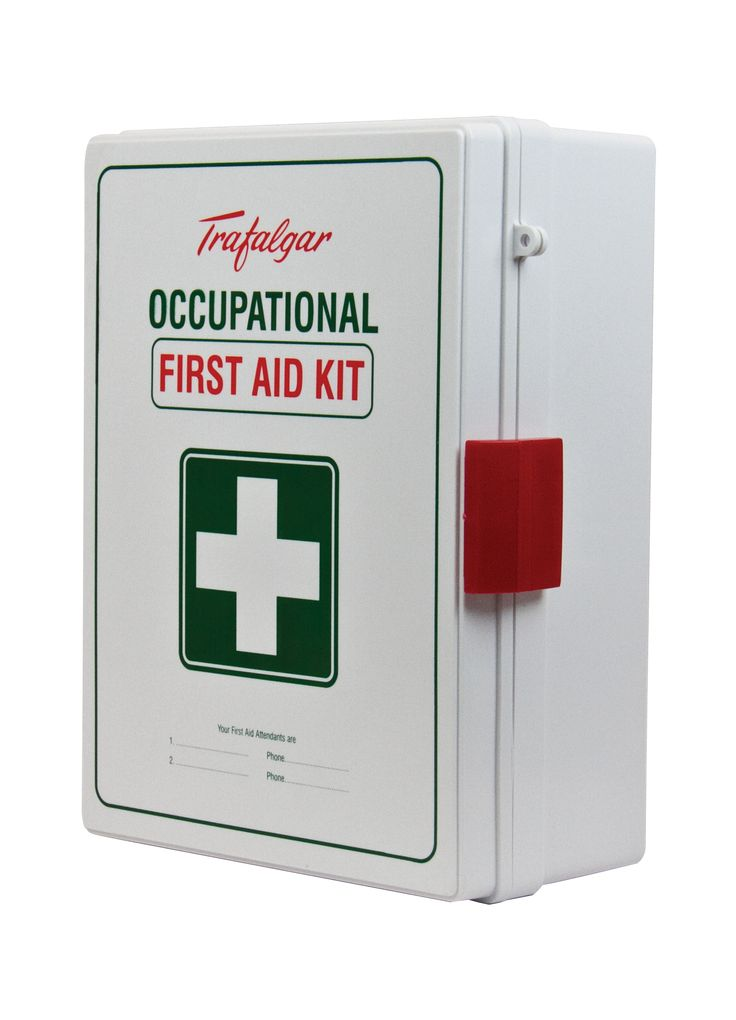 Workplace Occupational C First-Aid Kit (Clear box)