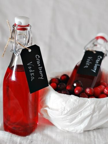 Cranberry-Infused Vodka by The Redhead Baker