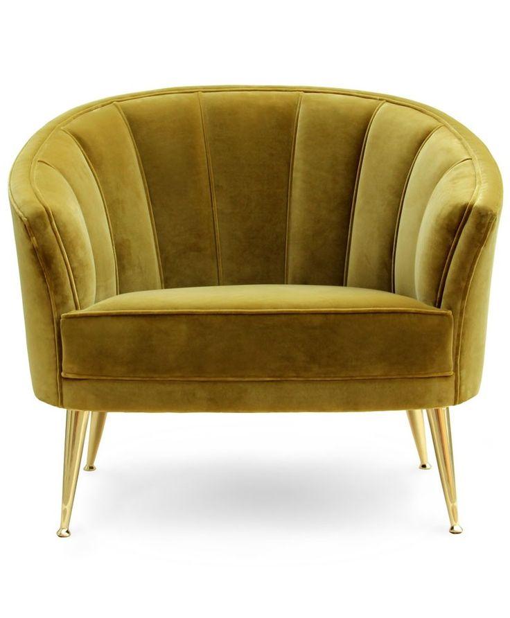 Modern Furntiure  Velvet Chair For Luxury Decors