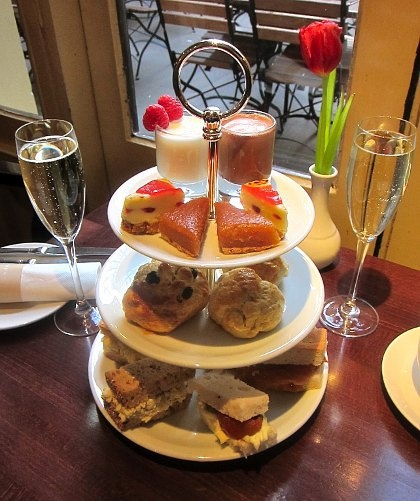 Afternoon Tea at Davy's Canary Wharf London £14.95 - AfternoonTea.co.uk