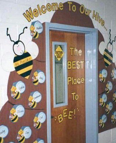 dekorasi kelas pintu segar dimaksudkan untuk hiasan