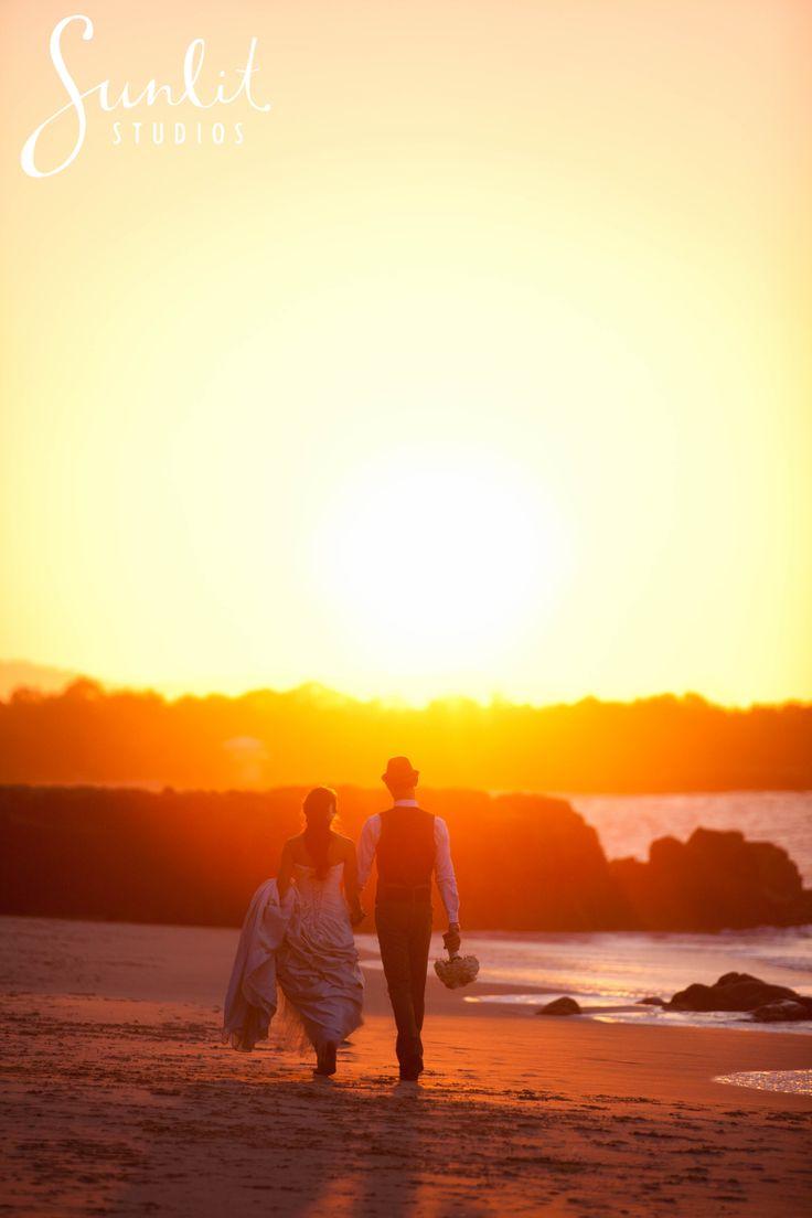 Noosa Beach Sunset Photo