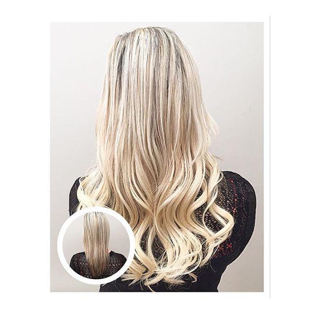 HAIR EXTENSION TRANSFORMATION ✂️💇🏼//Before and After • ✨@balmainhairuk Keratin Bond Hair Extensions ✨ • www.michaelgrayhair.com • • • #Balmain #KeratinBond #HairExtensions #Long #BlondeHair #Length #Volume #HairTransformation #Babyliss #Curls #Hairstyle #Blogger #HairBlog #Walthamstow #LondonHair #London #Freelance #Hairdresser #MichaelGrayHair