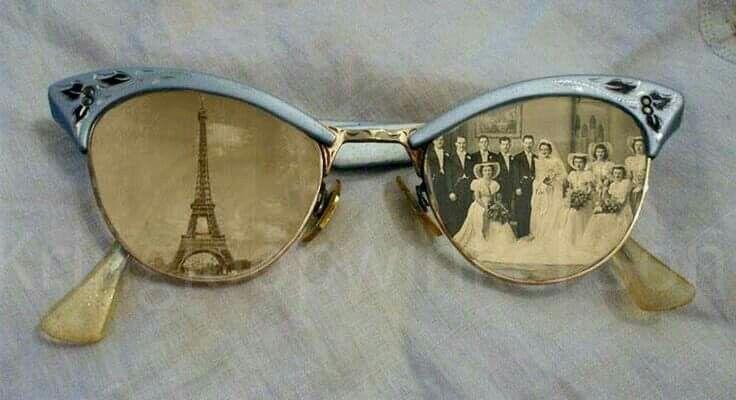 ** Altered Vintage Eyeglasses