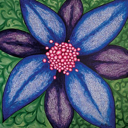 Dreaming Flower by TheColourArtisan on Etsy