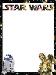 star wars invitations free printable - Google Search