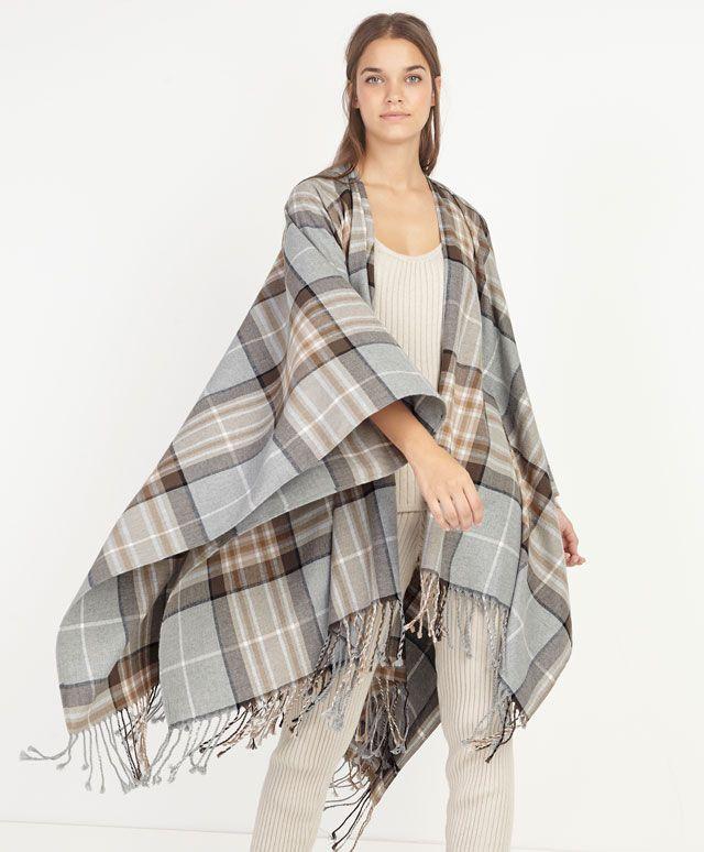 Checked scarf - OYSHO