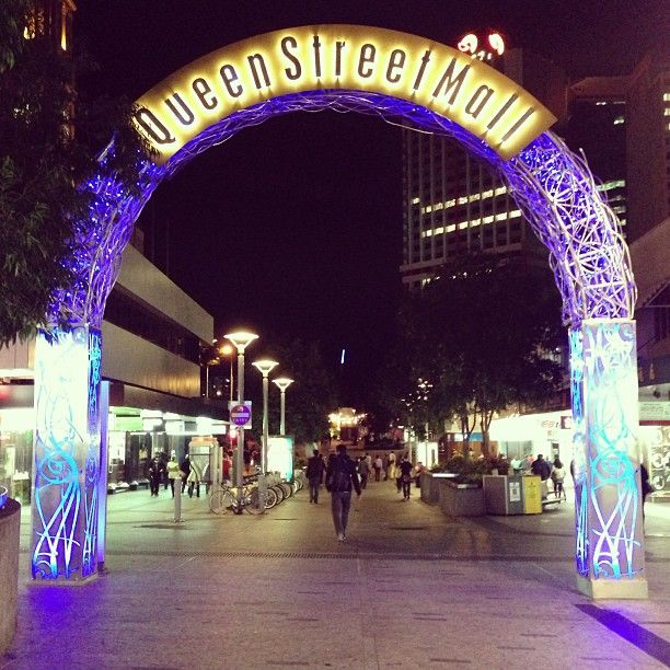 Queen Street Mall , Brisbane, QLD, Brisbane 2007 Summer with KMU friends