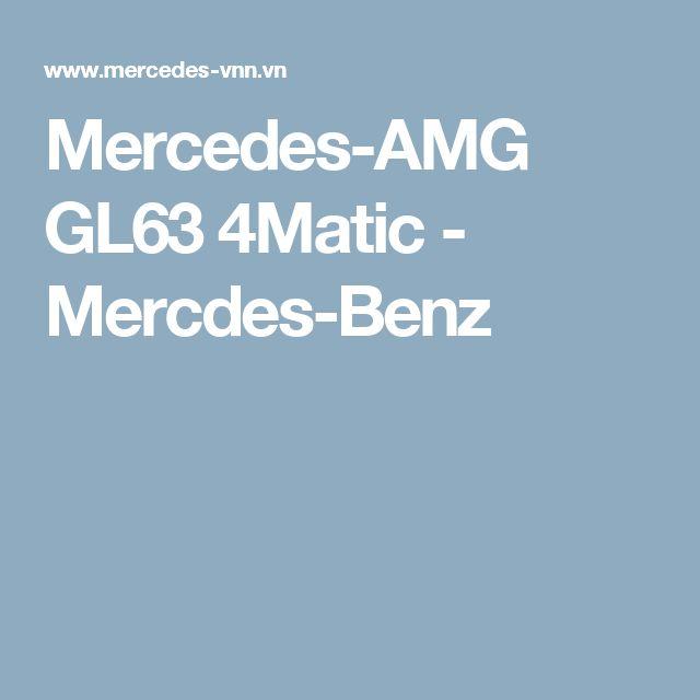 Mercedes-AMG GL63 4Matic - Mercdes-Benz