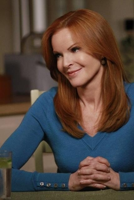 Still of Marcia Cross in Desperate Housewives, red hair