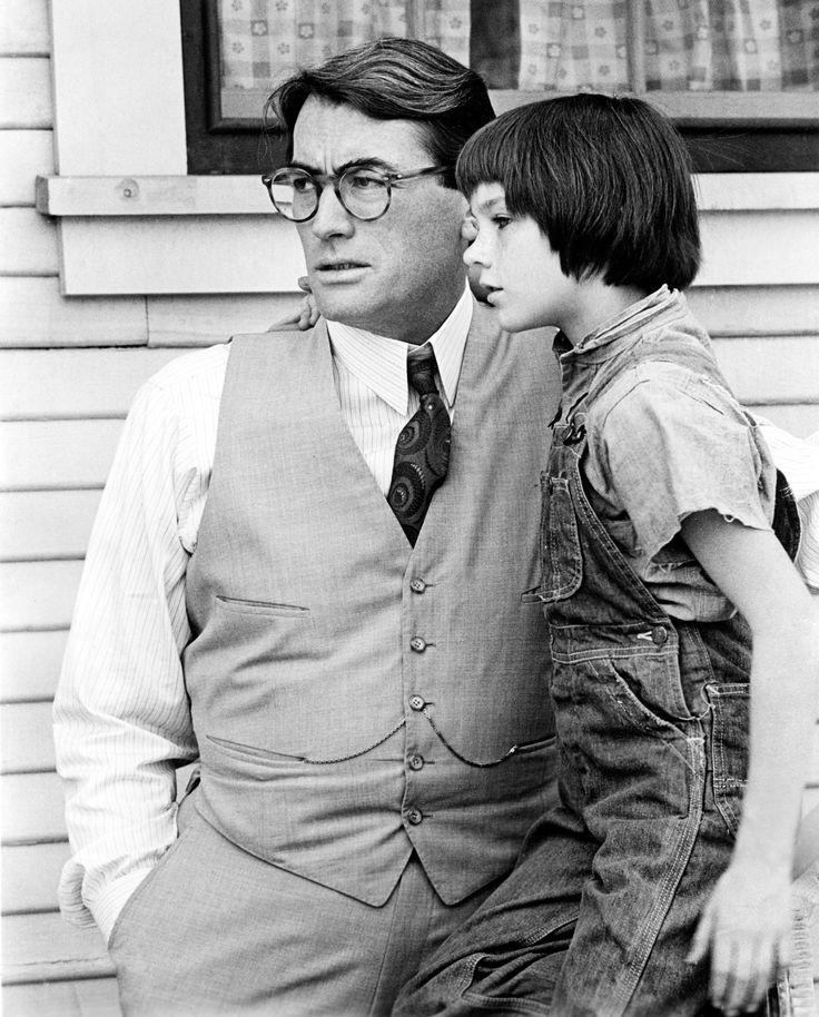 To Kill a Mockingbird_Gregory Peck and Mary Badham