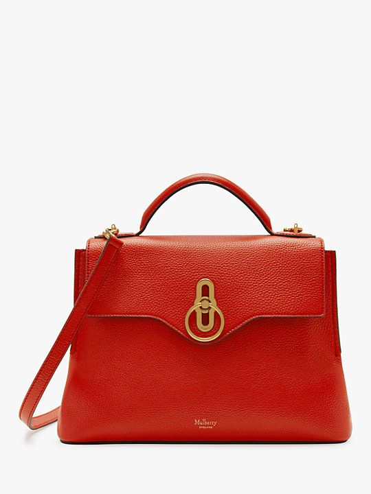 c7aba207a4 Mulberry Seaton Classic Grain Leather Small Shoulder Bag