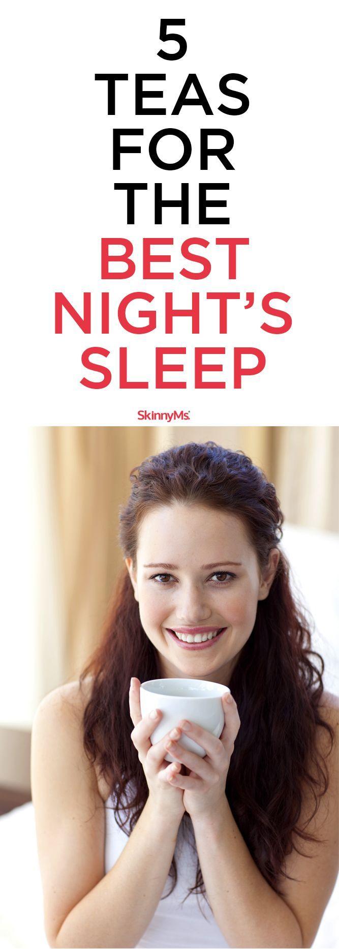These 5 teas help me sleep better! #bettersleep #tea #sleepremedies