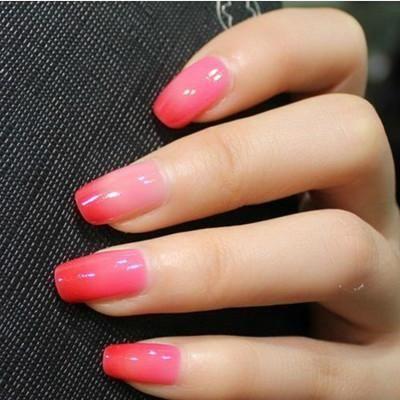 Ylin Magic Color Changing Mood Nail Polish - #6 Red/Pink :: $7.84 - Best 25+ Mood Nail Polish Ideas On Pinterest Mood Polish, Color
