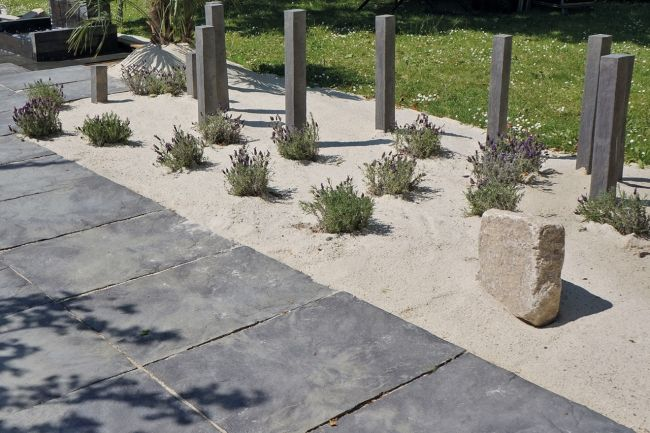 effets de sol dalles pierre reconstitu e schistone bradstone bradstone pinterest art. Black Bedroom Furniture Sets. Home Design Ideas