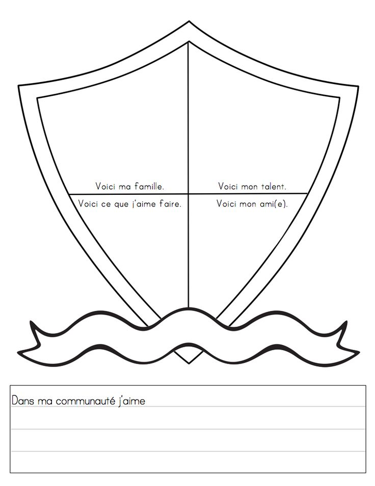 social studies grade 1 French Immersion, taking part in a community Mme Belle Feuille (free printable)