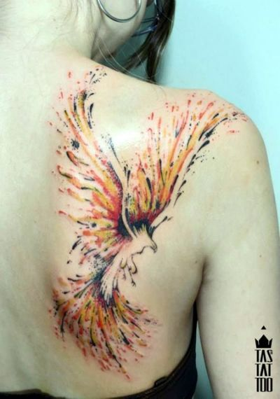Best 25 watercolor phoenix tattoo ideas on pinterest for Anthony french tattoo