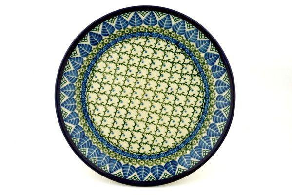 Polish Pottery 10-inch Plate | Boleslawiec Stoneware | Polmedia H9535A