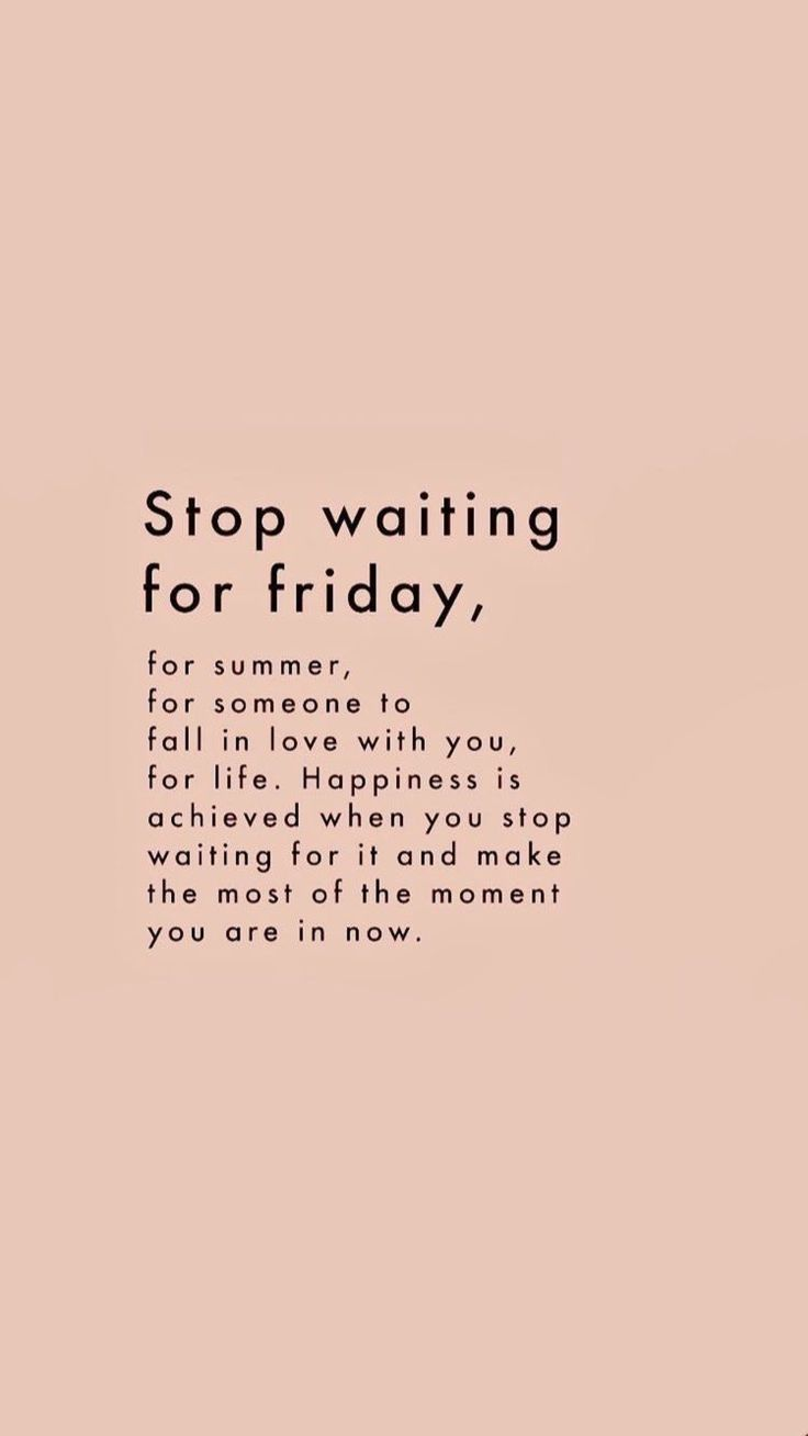 """stop waiting"""" quote inspiring words, Inspirational Quotes, Quotes"""