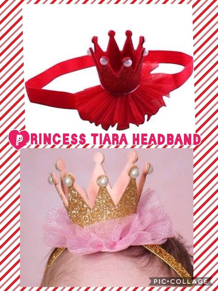 Tiara Crown Christmas photo props cakesmash 1st Birthday Princess Head/Hairband    eBay