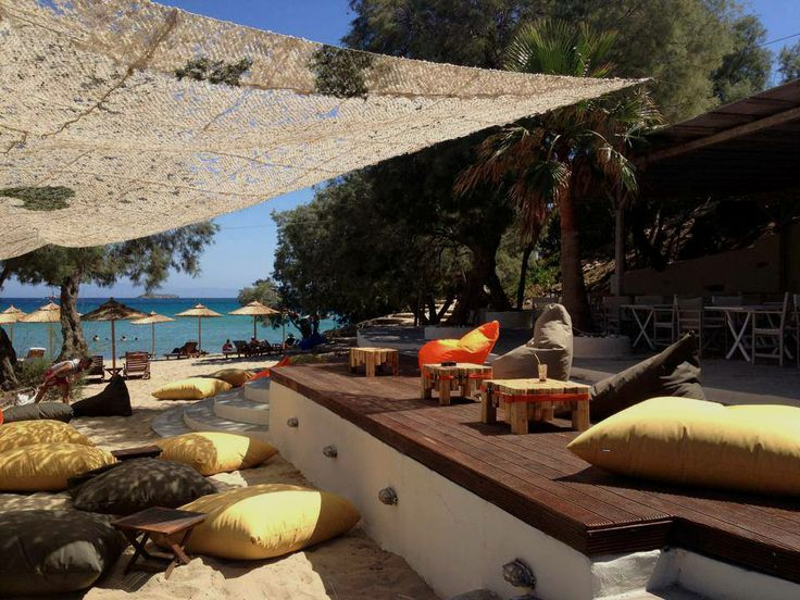 poofomania# Punda beach# Πάρος##bean bag outdoor#beach#