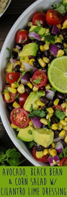 This salad is delicious and satisfying. It's light, refreshing and filling. #glutenfree #salad #veganfood