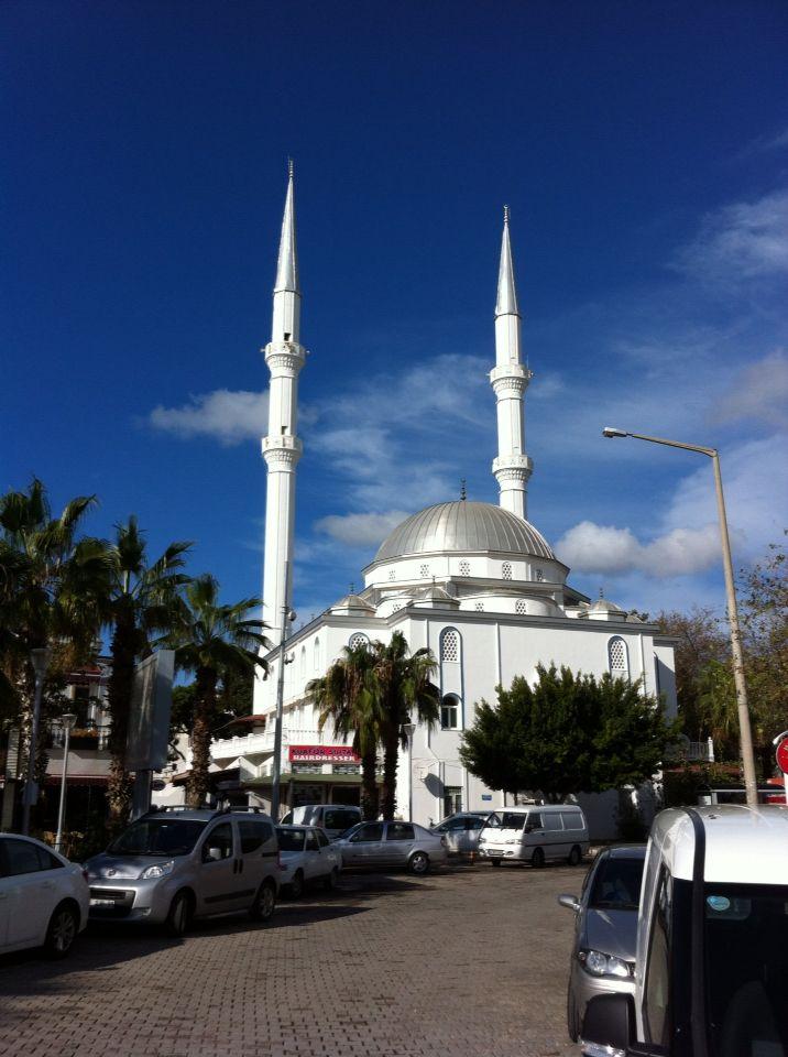Turgutreis mosque.
