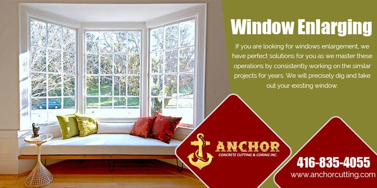 If you want #increased your #window #size of your #home for #better #looks then visit at anchorcutting.COM for best #window_enlarging #services in #Brampton. #WindowEnlargingServicesBrampton #WindowCuttingBrampton For more details you can call us at: 416-835-4055  visit: http://www.anchorcutting.com/window-enlarging-services.html
