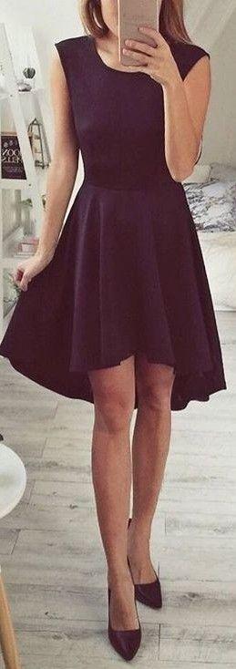 Classic Little Black Dress                                                                             Source