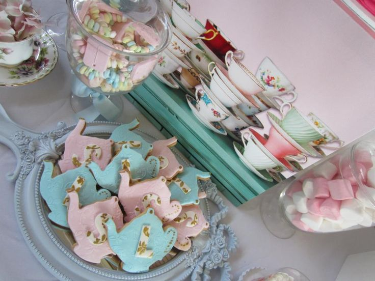 high tea party via teaparty party partyideas baby shower ideas for