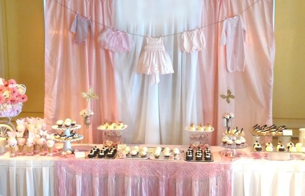 baby shower girl baby showers babyshower clothes line baby