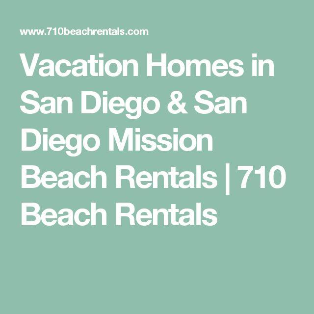 Vacation Homes in San Diego & San Diego Mission Beach Rentals | 710 Beach Rentals