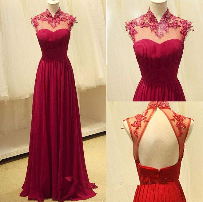 A-line Prom Dresses,Prom Gown,Burgundy Prom Gown,Long Prom Dresses,Backless Prom Dresses,Open Backs Formal Dresses,Wine Red Prom Dress