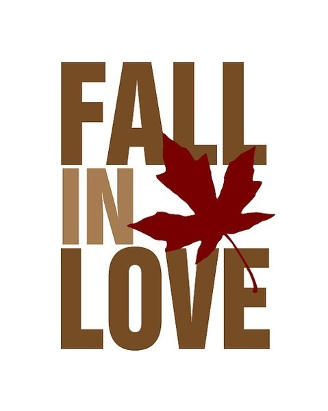 Fall in love....