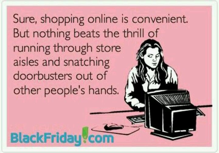 Black Friday.. Or trying to steal shopping carts from people...