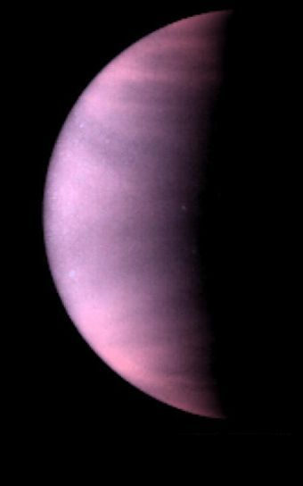 Ultraviolet View of Venus by Hubble
