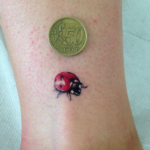 Amato Oltre 25 fantastiche idee su Tatuaggi coccinella su Pinterest  CM73