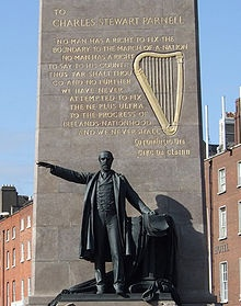 Charles Stewart Parnell Monument, dublin, Ireland