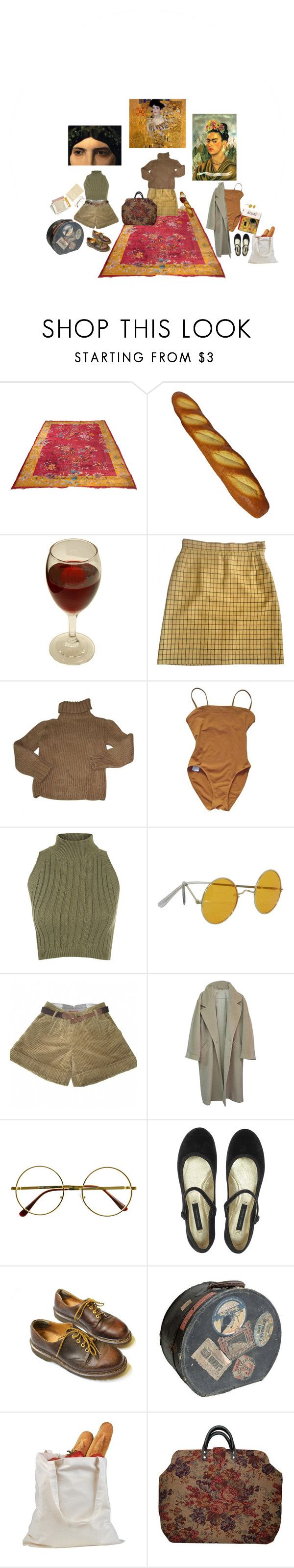 """""""art hoes"""" by the-lonely-wallflower ❤ liked on Polyvore featuring Vivienne Westwood, Isabel Marant, Eres, Taschen, WearAll, Sessùn, MaxMara, Retrò, Marc Jacobs and Dr. Martens"""