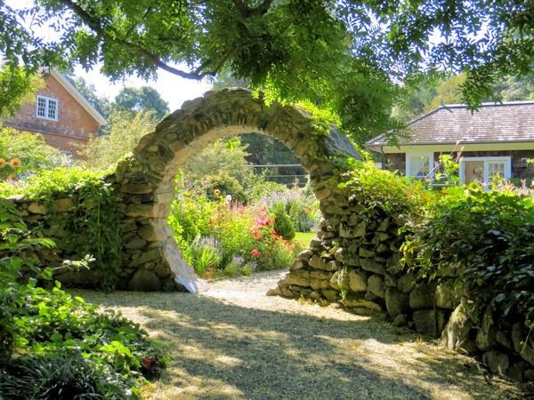 41 best hardscape images on pinterest garden ideas backyard ideas and architecture for Blithewold mansion gardens arboretum
