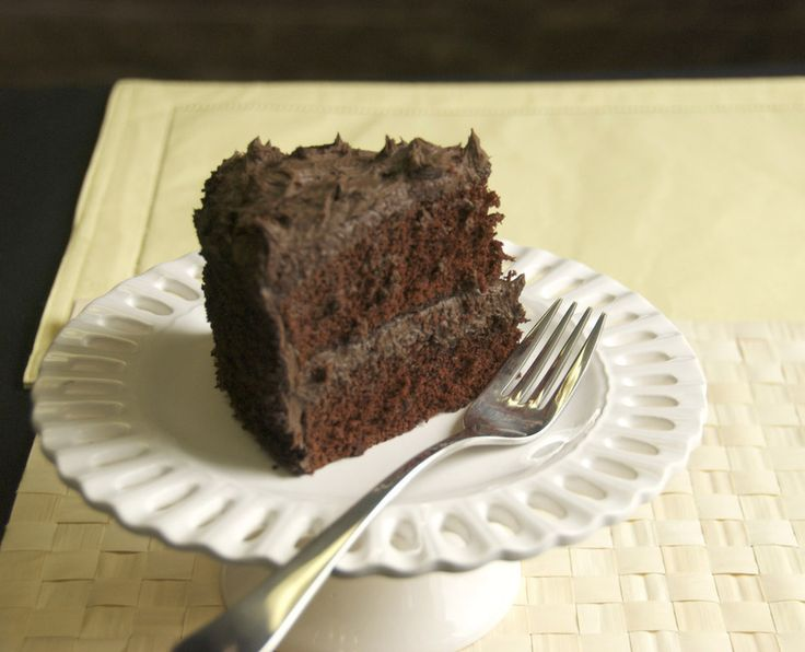 Capitol Grade Dark Chocolate Cake Recipe | Food & Drinks | Pinterest