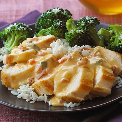 Got 20 minutes? Great! You've got time to make this tasty chicken and rice skillet dish with a cheesy salsa sauce. Prep Time: 20 min. Total Time: 20 min.