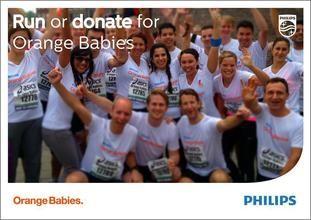 Goed gedaan Philips Consumer Lifestyle – Zij zamelden geld in voor Orange babies: https://justgiving.nl/nl/companies/209-philips-consumer-lifestyle-dam-tot-damloop-2014