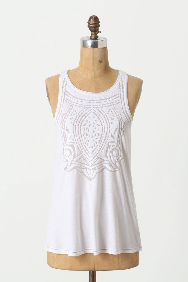 "$68 from Anthropologie... would be a very difficult reverse applique but would be gorgeous in so many patterns. Maybe with some ""dancers nylon"" underneath..."