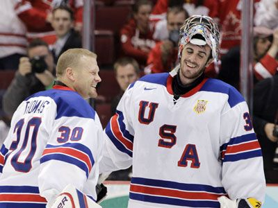 USA... love me some USA hockey goalies