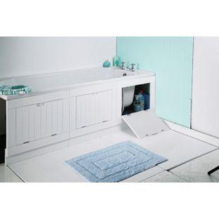 Buy Hideaway Matte White Bath Panel at Argos.co.uk - Your Online Shop for Bath panels.